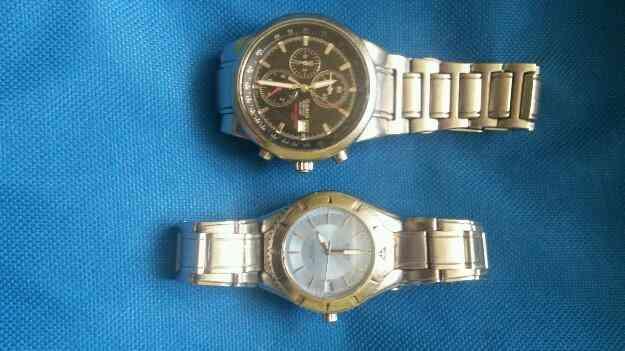 Vendo estos dos relojes de marca casio originales,Aproveche!