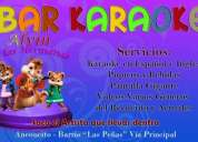 Se necesita chica salonera atención karaoke,contactarse!