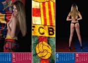 Vendo calendario de barcelona version tc