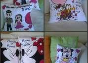Vendo almohadas personalizadas
