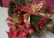 Vendo adornos navideños