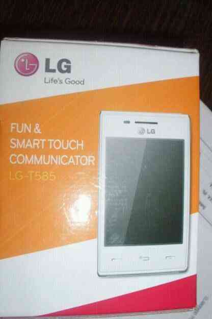 Excelente Celular LG T585