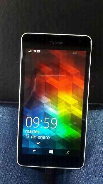 Excelente Microsoft Lumia 535 en perfecto estado.