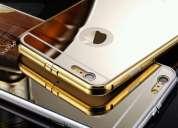 Vendo case protrector de aluminio para iphone 5, 5s, 6