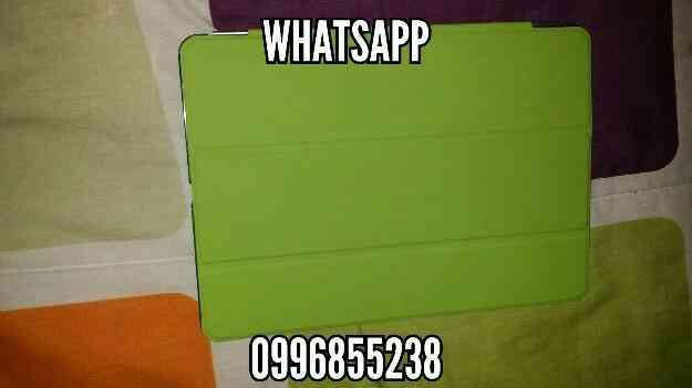 Vendo Smart Cover iPad Air 1 verde y negro