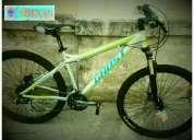 Vendo cambio bicicleta ghost 9x3 silver control