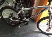 Vendo bicicleta mtb giant