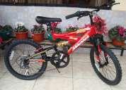 Vendo bicicleta magna de 7 velocidades de paquete