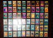 Vendo 85 cartas de yugioh originales.