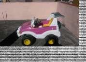 Vendo carrito electronico con bateria 4x4