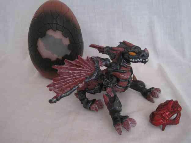 Vendo Dragón Y Huevo Mega Bloks Negro Y Rojo