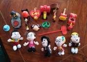 Vendo juguetes de mc donalds de coleccion,consultar!