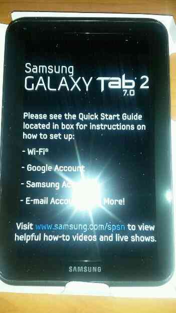 Vendo Tablet de 7 Samsung Galaxy