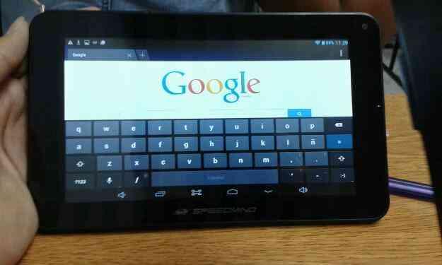 Vendo Excelente tablet speedmind funcional 10/10