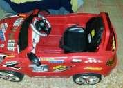 Vendo carro deportivo eléctrico recargable