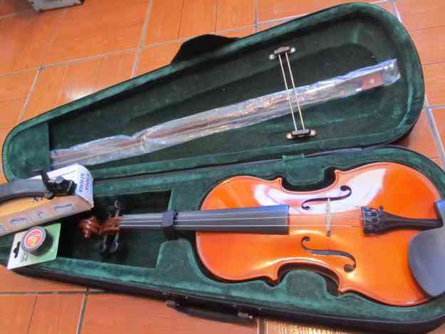 Excelente Violin Acustico Strong 4/4 Kit completo