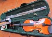 Excelente violin acustico strong 4/4 kit completo