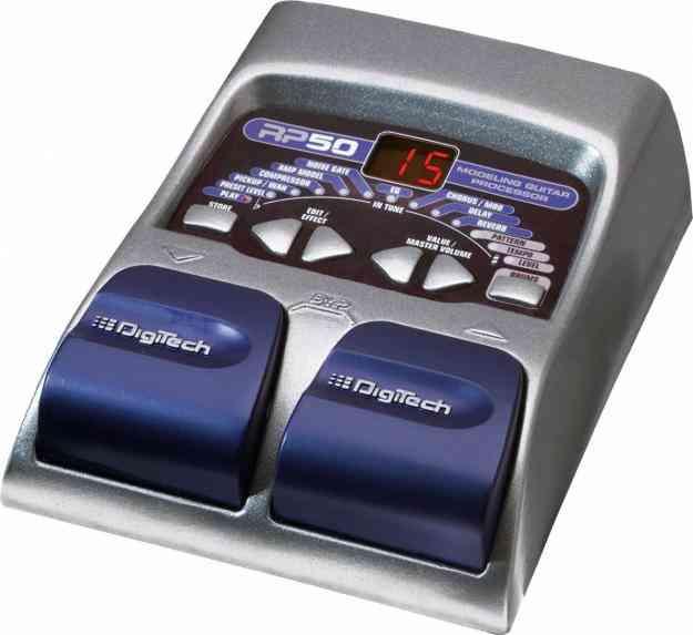 Vendo Excelente pedalera para Guitarra Digitech RP50