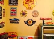 Vendo letreros y placas americanas