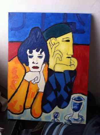 Vendo Pintura Al Oleo De Pablo Picasso