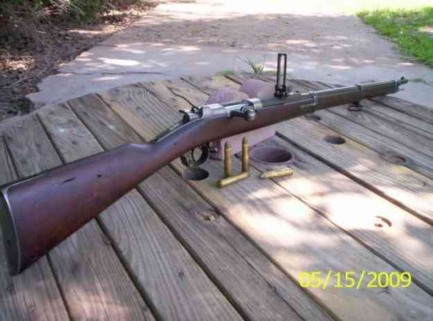 Excelente rifle antiguo