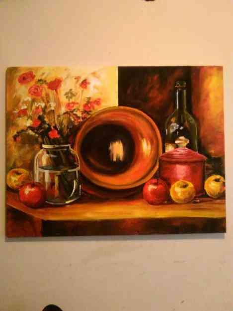 Excelente pintura de bodegòn