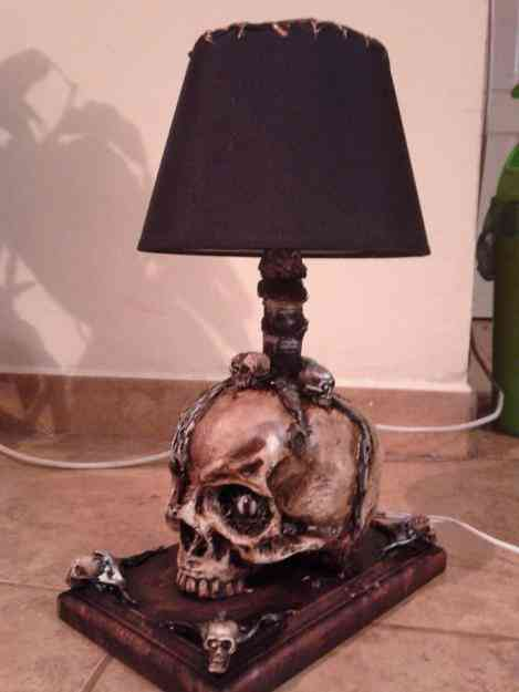 Vendo lampara de craneo
