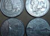 Vendo o cambio monedas de 25 centavos de los eeuu,contactame!
