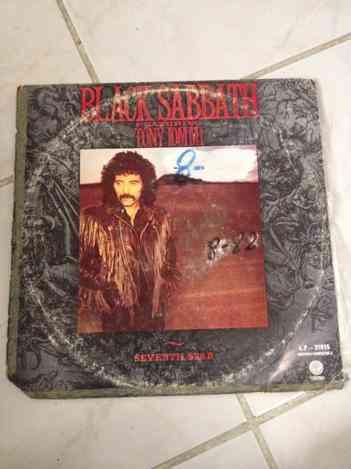 Vendo Lp Vinilo Black Sabbath seventh Star