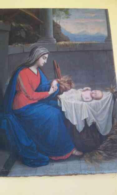 Vendo Cuadro virgen y niño