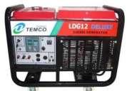 Vendo generador marca temco a diesel de 20 hp