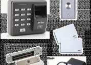 Vendo kit control de acceso biométrico o tarjeta