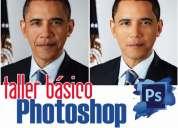 Taller curso photoshop básico para periodistas fotógrafos