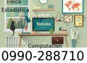 Clases a domicilio matematicas fisica estadistica computacion