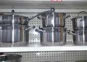 Juego de ollas 12 piezas  para cocinas a inducción acero 18/10 alemana