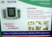 Electroestimulador profesional, masajeador, terapia, masaje