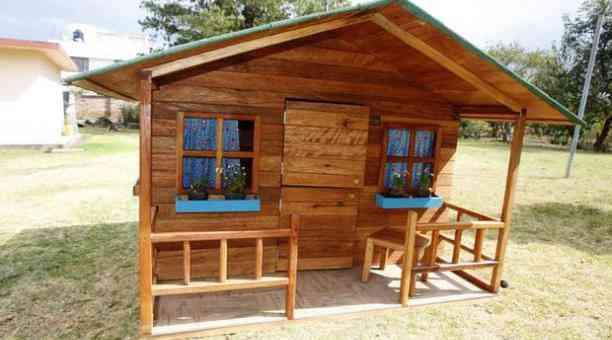 Casitas de madera para ni os para exteriores casas de for Casitas de madera para ninos economicas