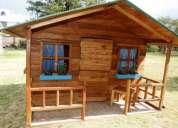 Casitas de madera para niños para exteriores casas de juguete
