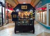 Gran oportunidad vendo negocio instalado en centro comercial
