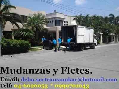 SERTRANSMUKA servicio de Mudanzas, instalaciones, traslados