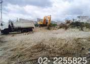 Demoliciones, derrocamientos de casas y edificios, mini cargadora, desalojos, desbanques quito