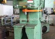 Prensa hidráulica logan 500 lbs usada