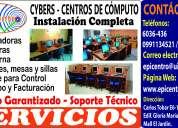 InstalaciÓn de cybers – centros de cÓmputo