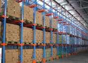 Racks industriales desmontables y regulables