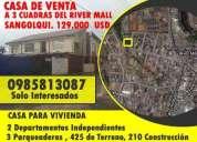 Casas de venta en sangolqui, sector residencial