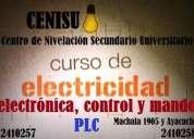 cursos de electricidad, electronica, controles electricos, automatismo plc
