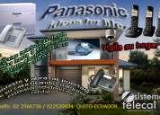 Centrales telefonicas / telefonos / camaras ip / panasonic
