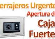 Servicio tecnico de aperturas de cajas fuertes a domicilios