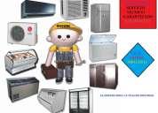 Expertos a domicilio en repracion de congeladores calefones lavadoras con garantia 5100620