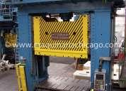 Prensa hidráulica hydrap 400 ton usada
